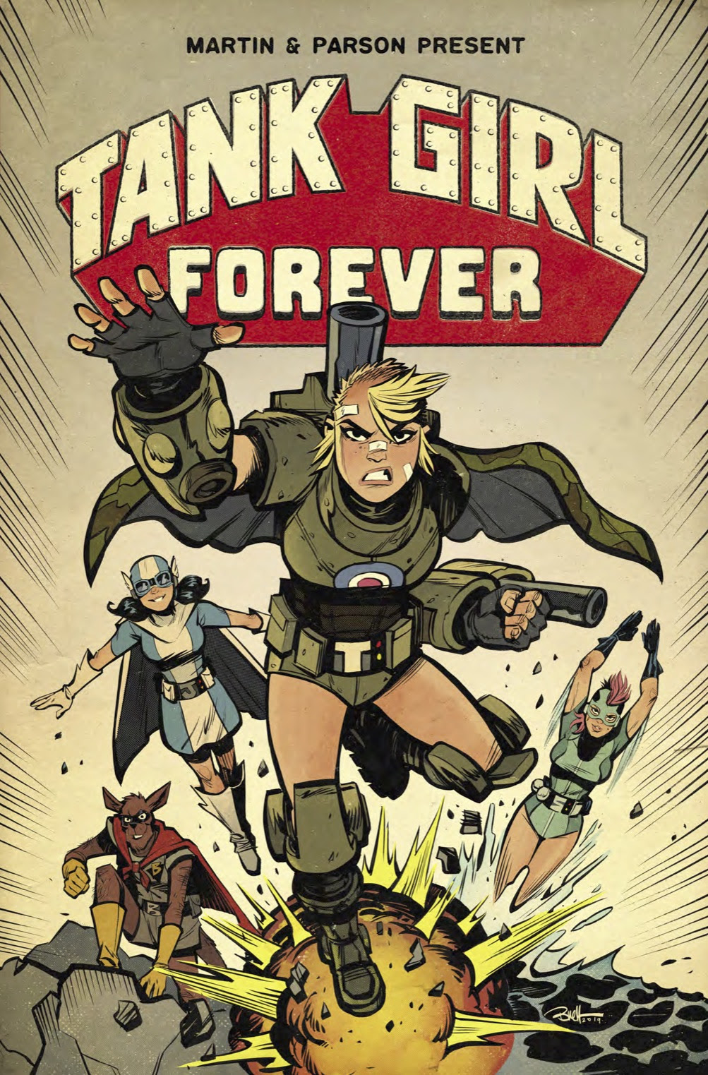 Tank Girl Forever Vol 2 – Tank Girl's First-Ever Ongoing Story Continues!