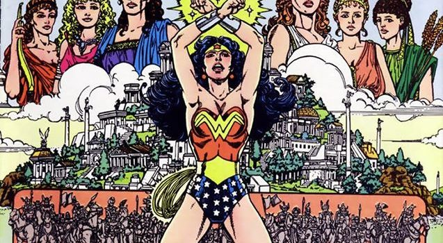 George Perez's Wonder Woman review by Raphael Borg