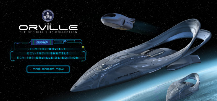 Hero Collector Announces Pre-Order of 'The Orville' Starships, With More To Follow In 2021