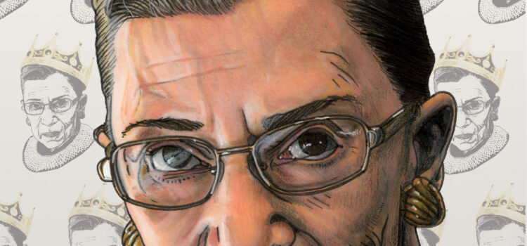 COMIC BOOK PAYS TRIBUTE TO LEGENDARY RUTH BADER GINSBURG