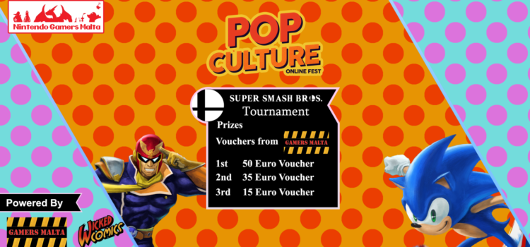 Super Smash Bros Tournament – Pop Culture Online Fest