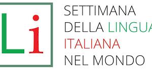 settimana lingua italiana logo