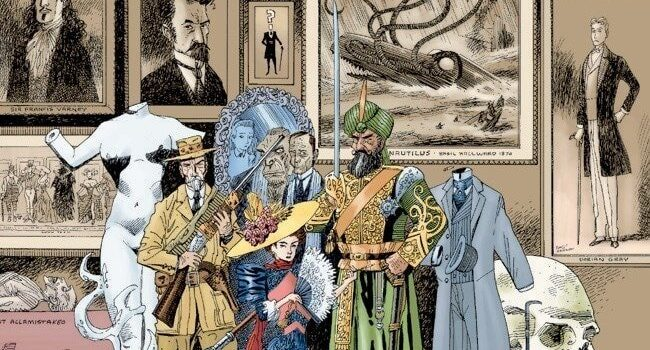 The League of Extraordinary Gentlemen review by Raphael Borg