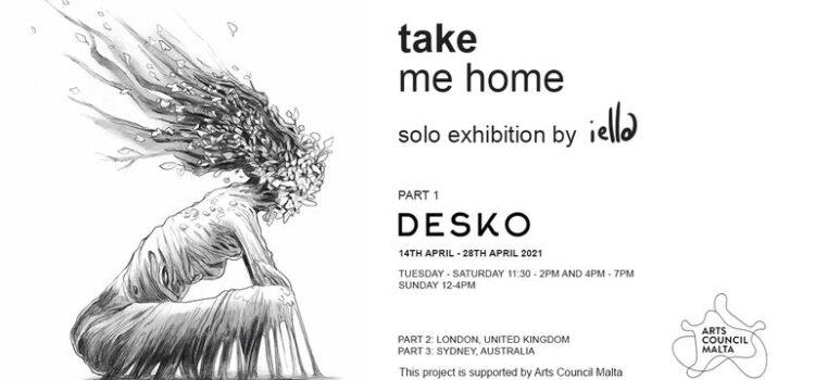 take me home – A Solo Exhibition by iella