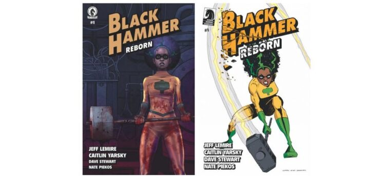 BLACK HAMMER is REBORN and SNOW ANGELS from Jeff Lemire, Launches.